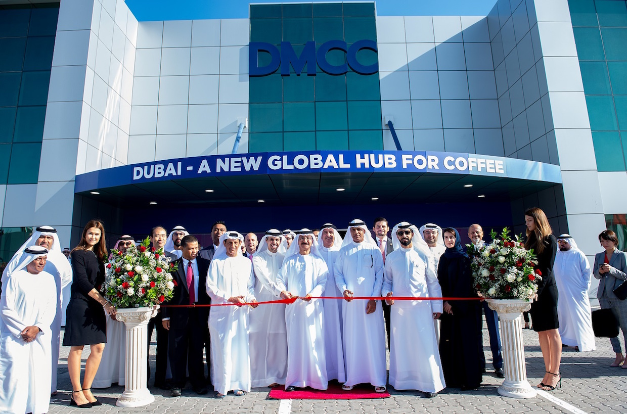 A NEW DMCC COFFEE CENTRE HAS BEEN LAUNCHED IN DUBAI