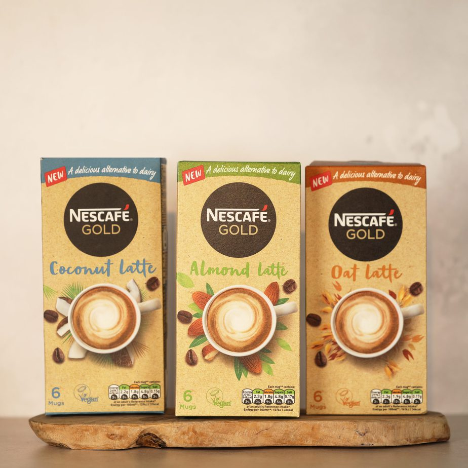 NESCAFÉ LAUNCHES PLANT-BASED LATTE COFFEES