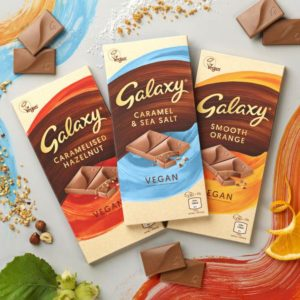 GALAXY LAUNCHES FIRST EVER VEGAN CHOCOLATE BARS