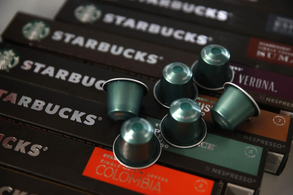 STARBUCKS AND NESTLÉ TO LAUNCH COFFEE CAPSULES