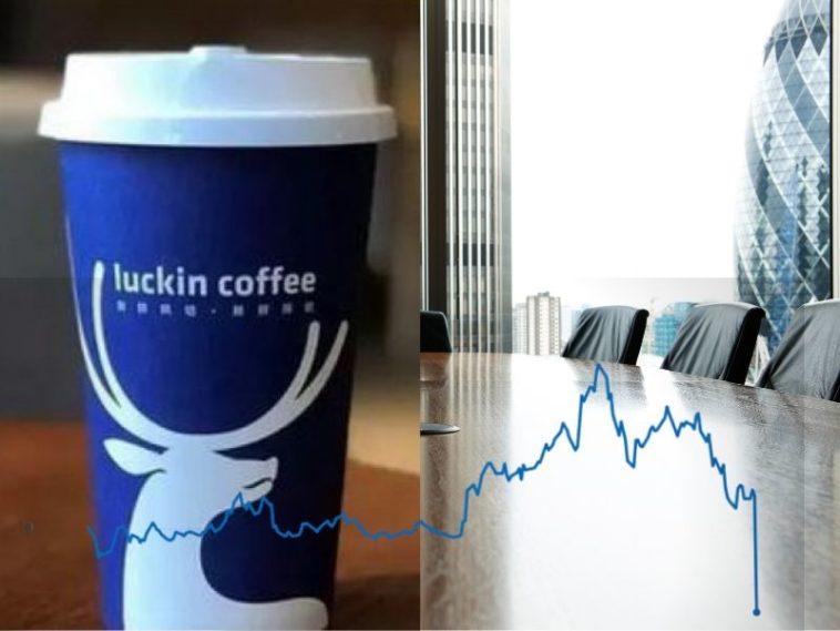 LUCKIN COFFEE NE DÉROULE PAS LE PRÉSIDENT - TERMINE L ...