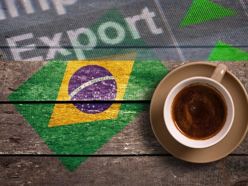 BRAZIL COFFEE EXPORT REVENUE RISES THANKS TO WEAK REAL