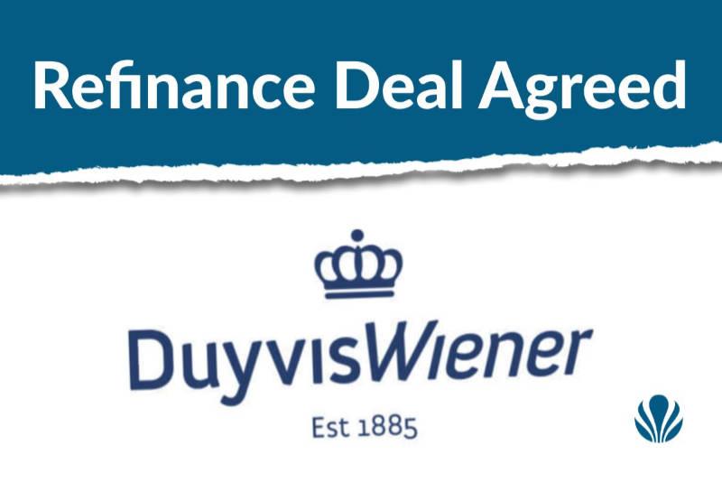 ROYAL DUYVIS WIENER AGREES REFINANCING AGREEMENT