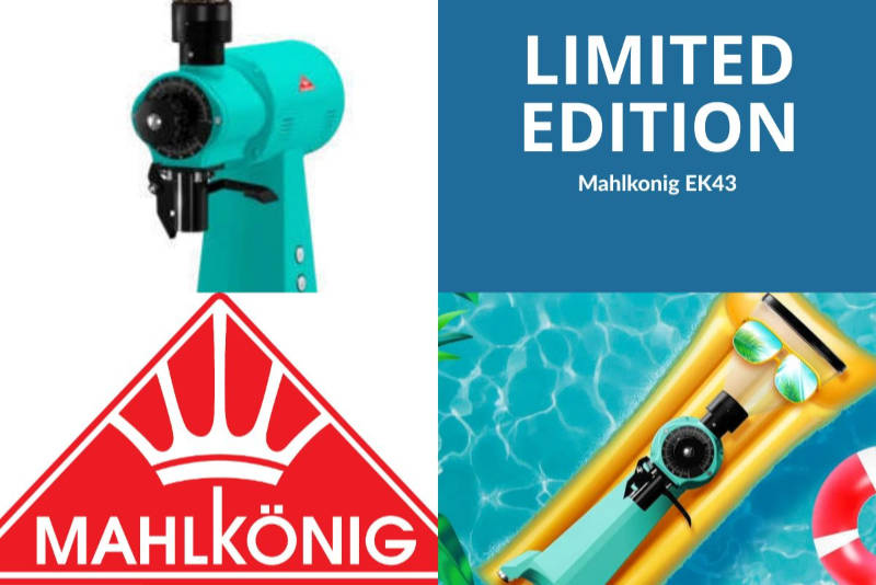 MAHLKÖNIG LAUNCHES LIMITED EDITION COFFEE GRINDERS