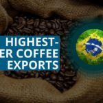 BRAZIL HIGHEST-EVER COFFEE EXPORTS EXPECTED