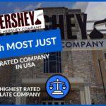 HERSHEY'S RECONNU COMME L'UN DES 'LES PLUS JUSTES' ENTREPRISES AUX ETATS-UNIS