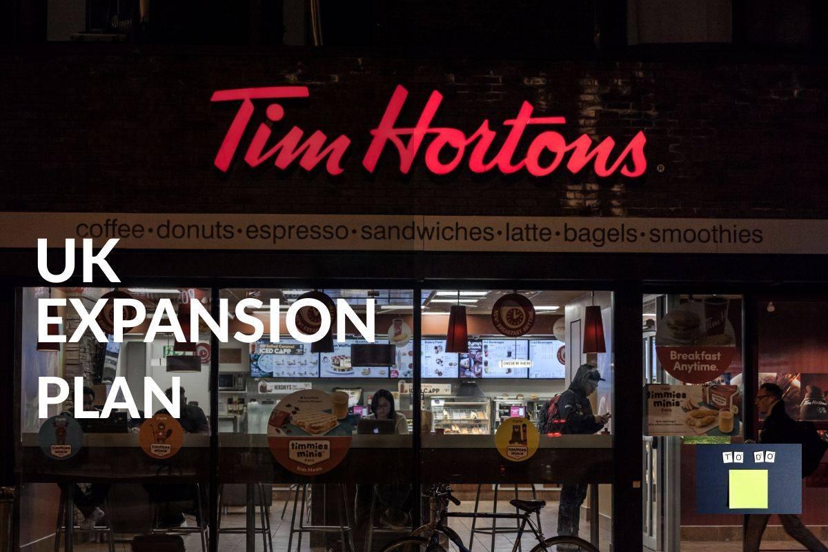 TIM HORTONS EXPANSION PLAN FOR UK PRESENCE DESPITE COVID-19