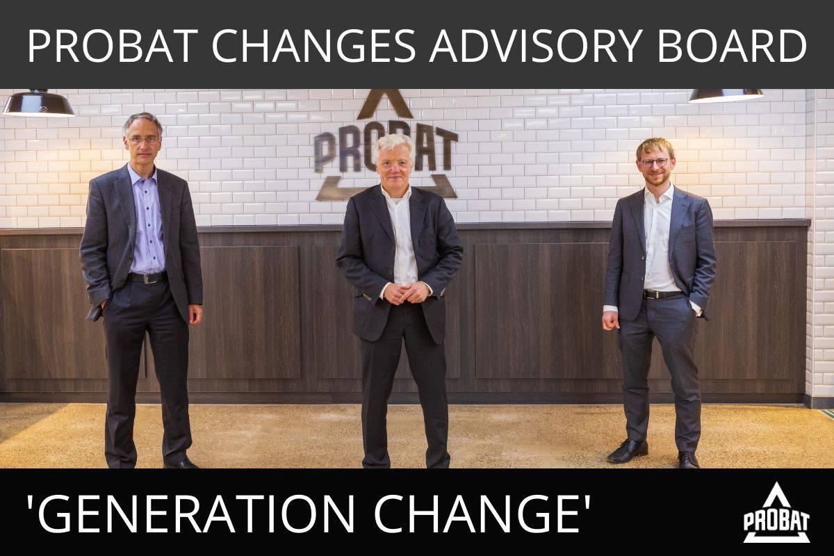 PROBAT CHANGES ADVISORY BOARD
