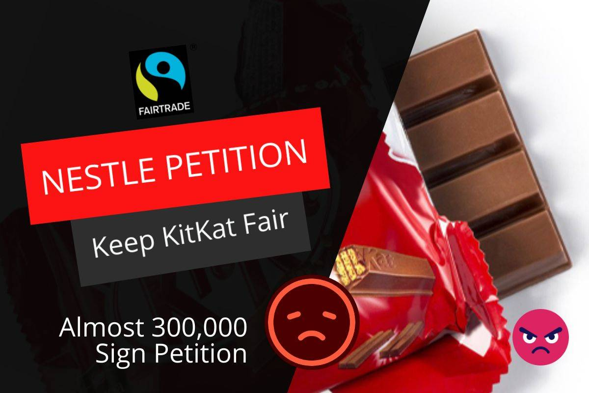 300,000 SIGN FAIRTRADE PETITION AGAINST NESTLE