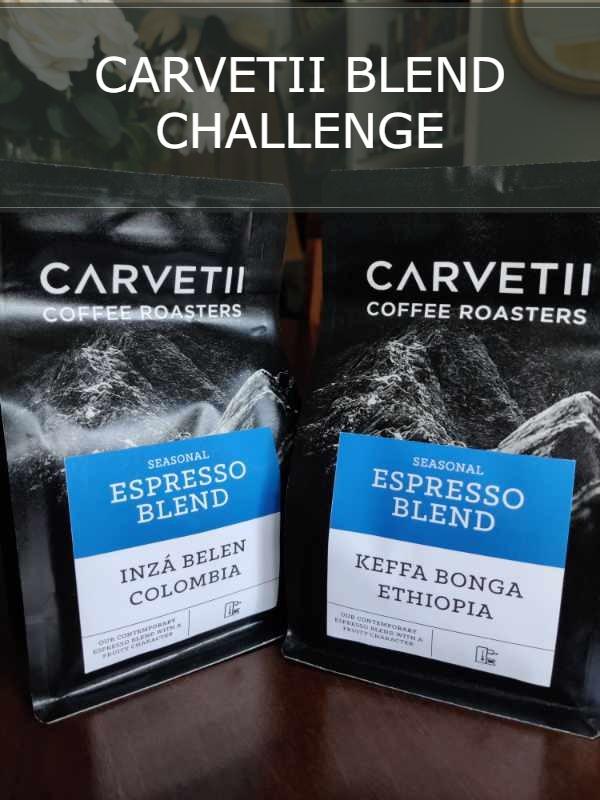 CARVETII COFFEE BLENDING BEANS CHALLENGE