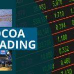 COCOA TRADERS TAKE ADVANTAGE OF CHEAP LONDON BEANS