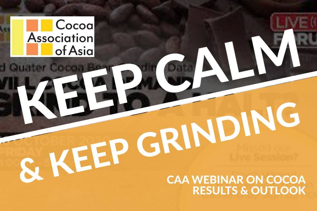 KEEP CALM AND CARRY ON GRINDING — CAA LOOKS FOR SILVER LINING