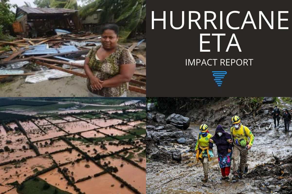 HURRICANE ETA DEVASTATES CENTRAL AMERICA FARMING COMMUNITIES