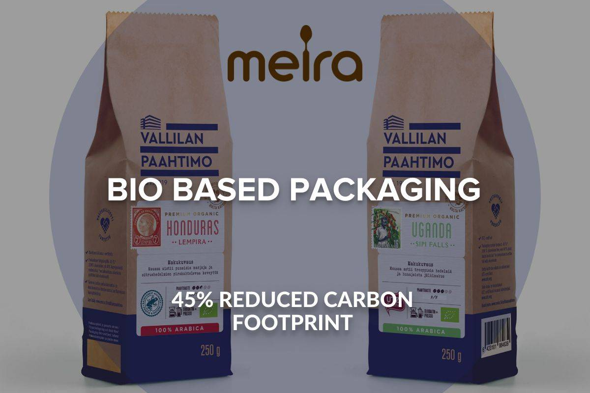 MEIRA NEW ROASTERY FOCUSES ON ENVIRONMENT AND PACKAGING