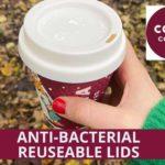 COSTA COFFEE POUR LANCER LE COUVERCLE RÉUTILISABLE ANTI-BACTÉRIEN APRÈS UN ESSAI RÉUSSI