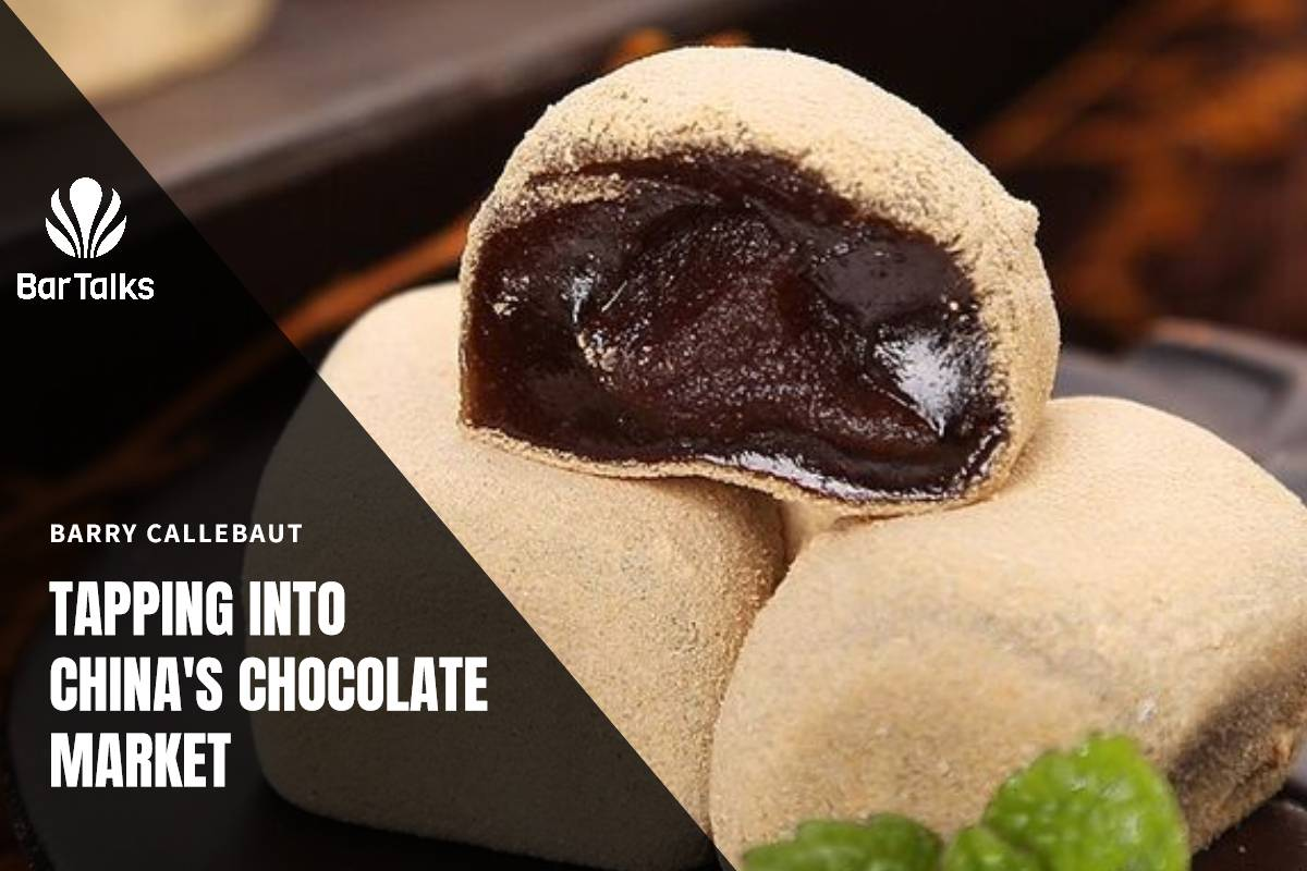 BARRY CALLEBAUT IS TAPPING INTO CHINA'S CHOCOLATE MARKET