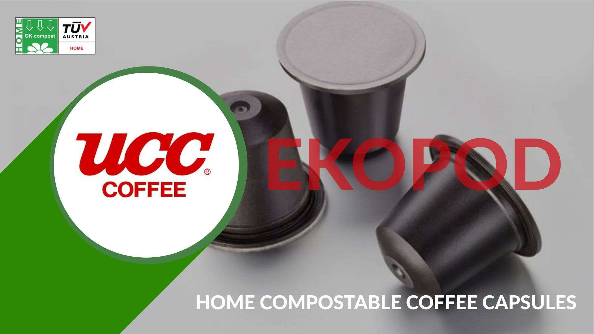UCC LAUNCHES EKOPOD HOME COMPOSTABLE COFFEE CAPSULES