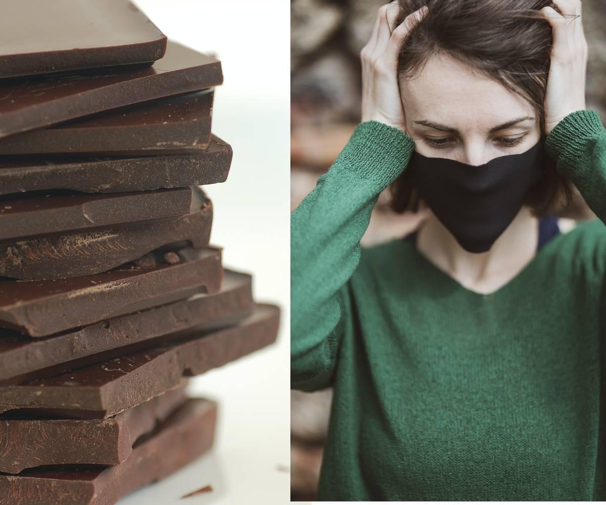 SCIENCE DANGEREUSE - LES SITES WEB INDIENS RÉCLAMENT LE CHOCOLAT ÉVITE LE COVID