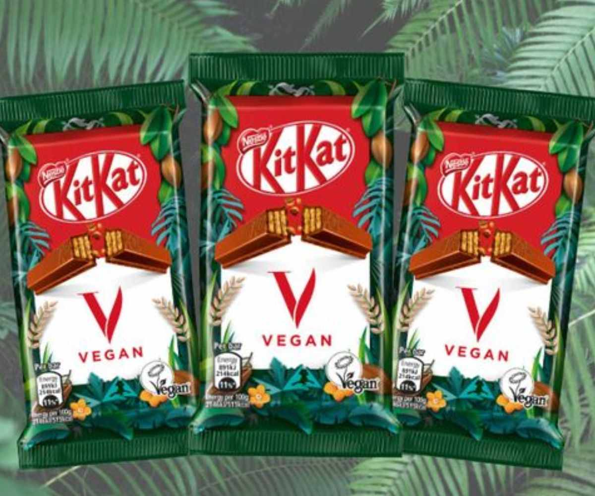 NESTLÉ EXPANDS VEGAN CHOCOLATE RANGE