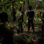 CÔTE D'IVOIRE CHILD LABOUR TRAFFICKERS ARRESTED