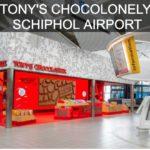TONY & #039; S CHOCOLONELMENTE ABRE LA PRIMERA TIENDA DEL AEROPUERTO