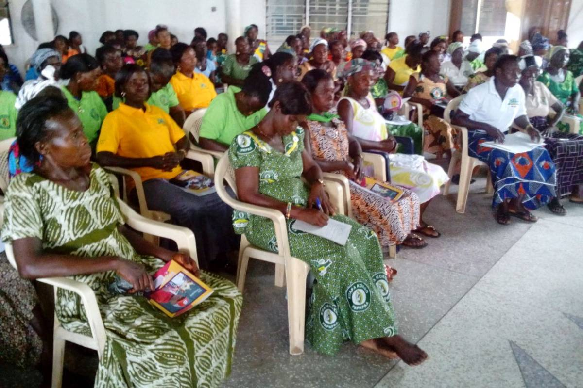CAMEROON INITIATIVE SUPPORTS WOMEN IN COCOA