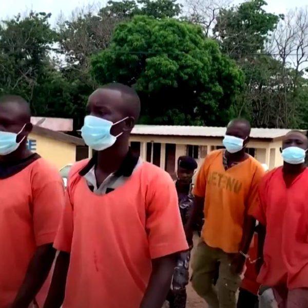 LA CTE D'IVOIRE EN PRISON 10 DU BURKINA FASO POUR TRAITE D'ENFANTS
