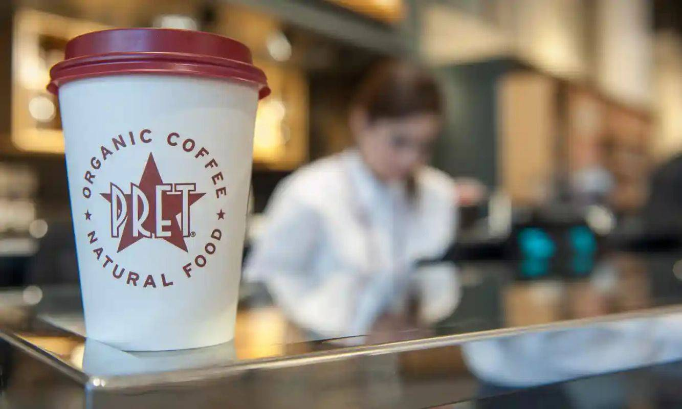 PRET A MANGER CONTINUES TO REINVENT ITSELF AS PRESSURE GROWS