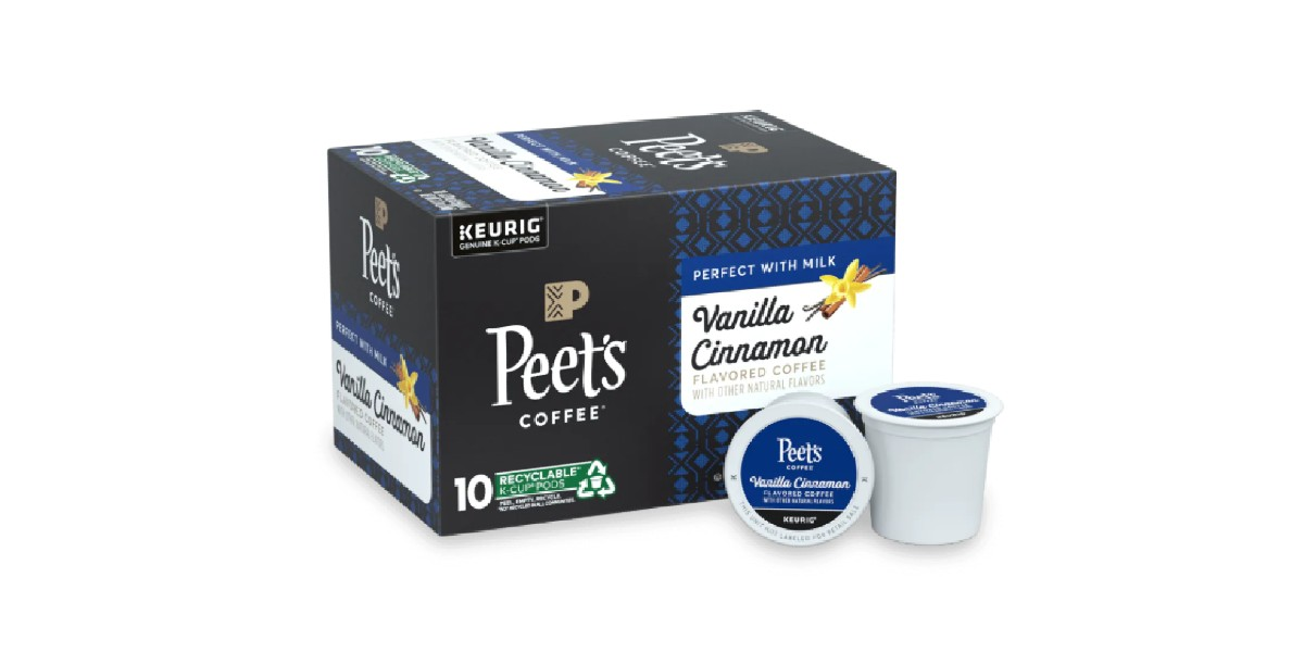 PEET'S COFFEE LANCE UNE NOUVELLE GAMME DE CAFÉS AROMATISÉS K-CUP