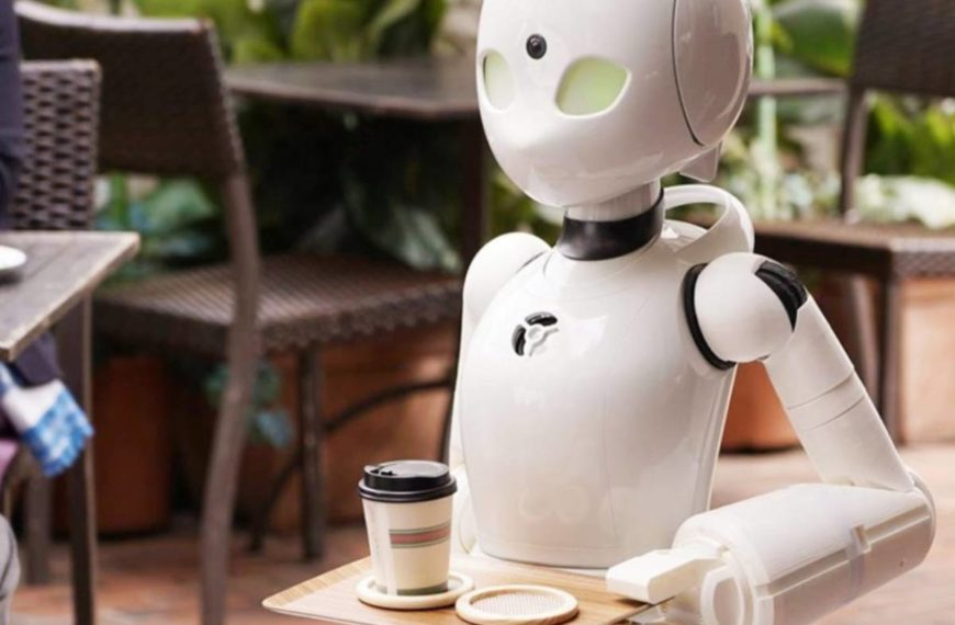 JAPANESE INVENTOR 'PILOTS' COFFEE SHOP ROBOTS FOR DISABLED WORKERS