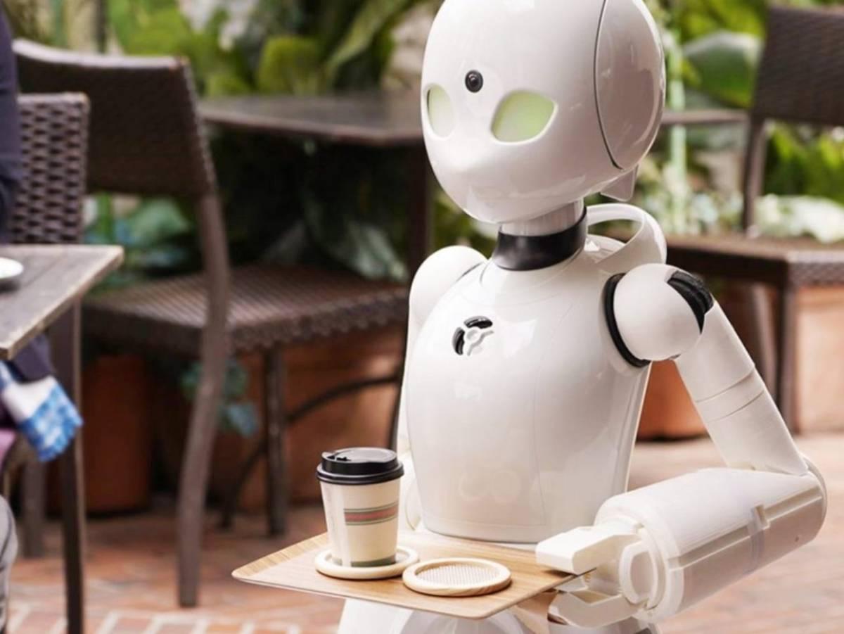 INVENTEUR JAPONAIS « PILOTES » CAFÉ ROBOTS POUR TRAVAILLEURS HANDICAPÉS