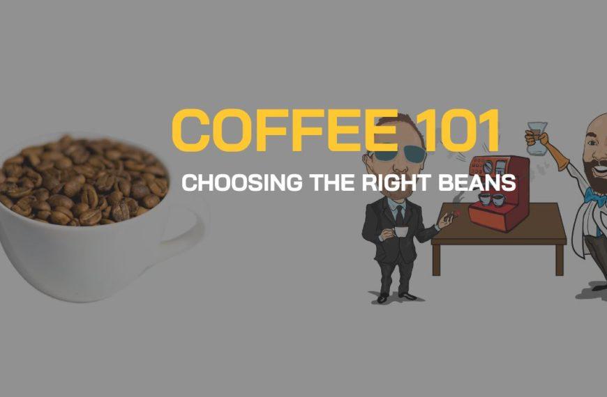 BEAN TALK - COFFEE 101 - ELEGIR LOS GRANOS CORRECTOS