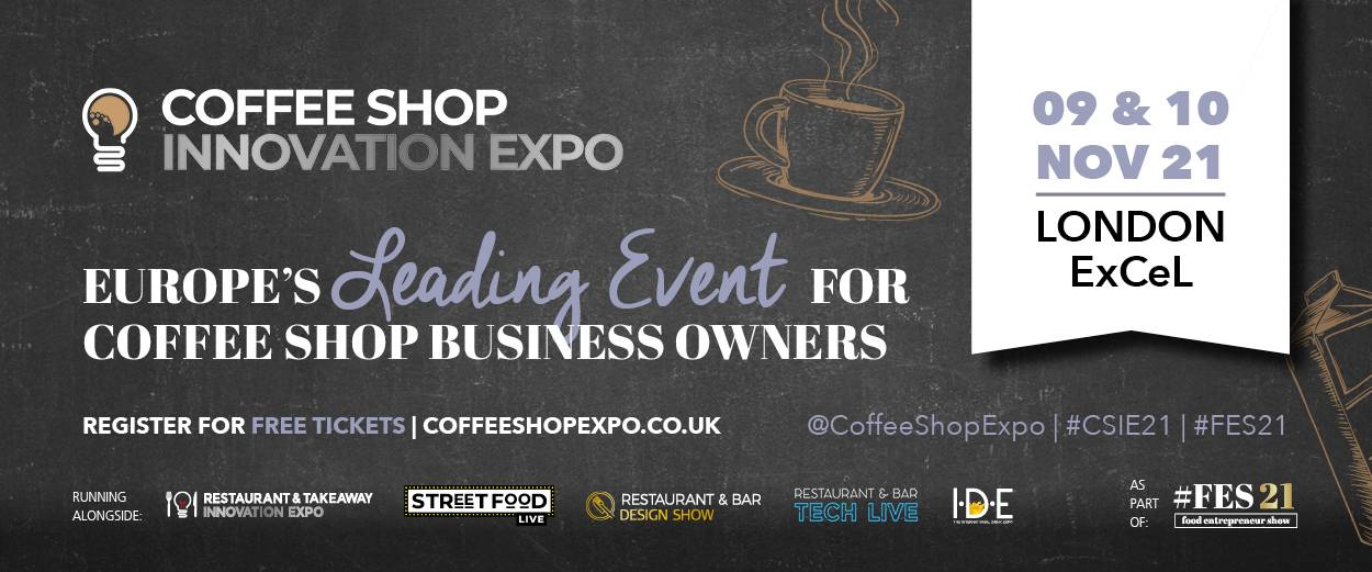 COFFEE SHOP INNOVATION EXPO SE DÉROULE EN NOVEMBRE