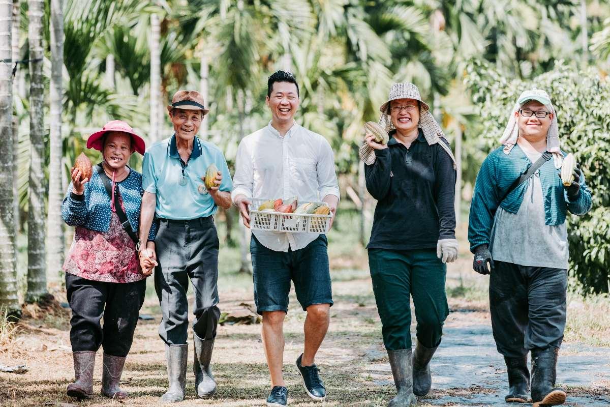 CONSTRUIRE UNE COMMUNAUTÉ DU CHOCOLAT À TAIWAN